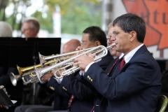 Trumpet Ensemble. Bob Periera at Trumpet 4