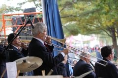 The Trombone Section Playing a Soli. Bob Trudeau and Dick Auger in the Foreground