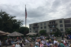 Overview of the Crowd at the Willows of Westborough.
