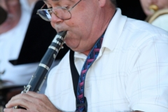 Ron Lewis on Clarinet.