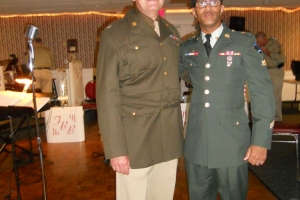Two Different Generations of Military Dress