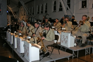 The AAFB Swinging on the Bandstandd