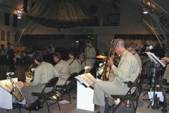 The AAFB on the Bandstand in the Armory